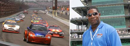 2005 Allstate 400 at the Brickyard Pace Car driver