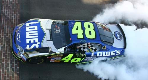 jimmie johnson 48 car. (5) Jimmie Johnson 160 $45