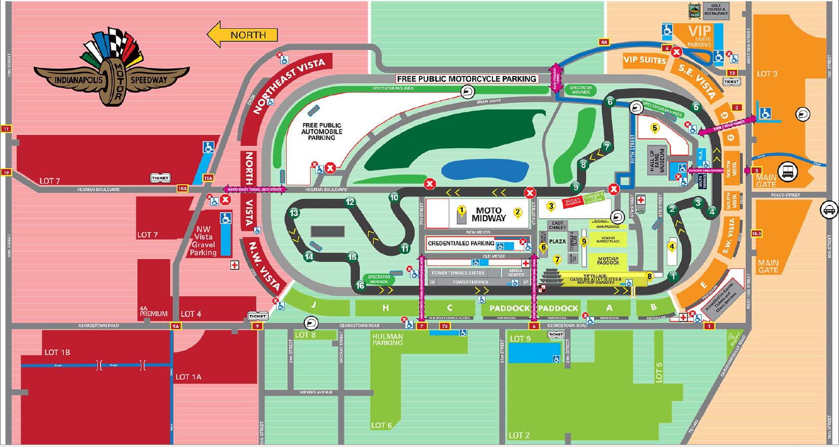 MotoGP at Indianapolis Grand Prix INFORMATION