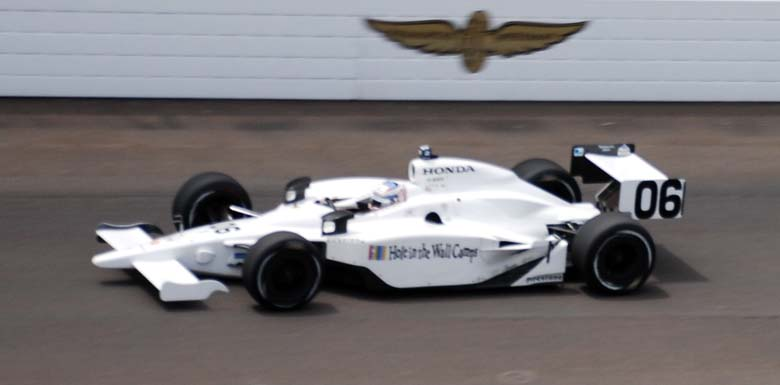 Graham Rahal 2008 Indy 500 entry