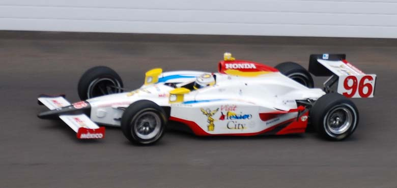Mario Dominguez 2008 Indy 500 Entry