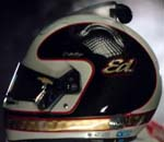 2021 ECR Ed Carpenter helmet