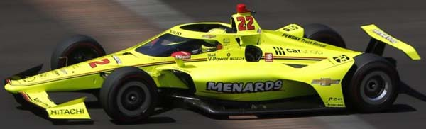 2021 penske pagenaud car