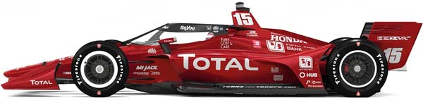 2021 rahal graham car for portland and long beach