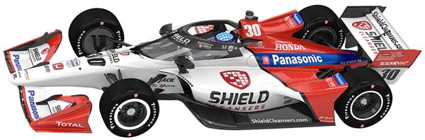 2021 rahal sato car for 5 races