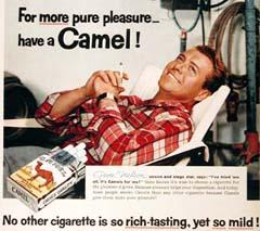 Camel Cigarette Advertising 1950s