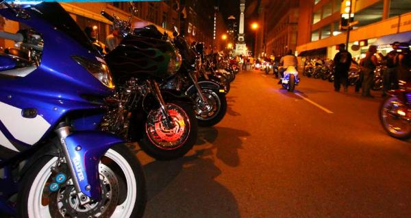 Bikes On Meridian 2015 choppers and sport bikes