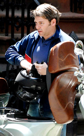 matthew broderick car accident. Vespa Scooters of Celebrities